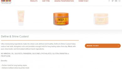 Photo of Cantu Define and Shine Custard Review