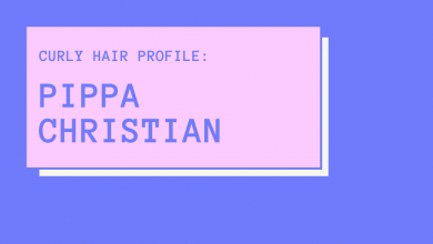 Photo of Curly Hair Profile: Pippa Christian