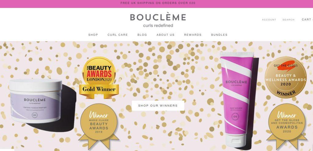 The Boucleme website